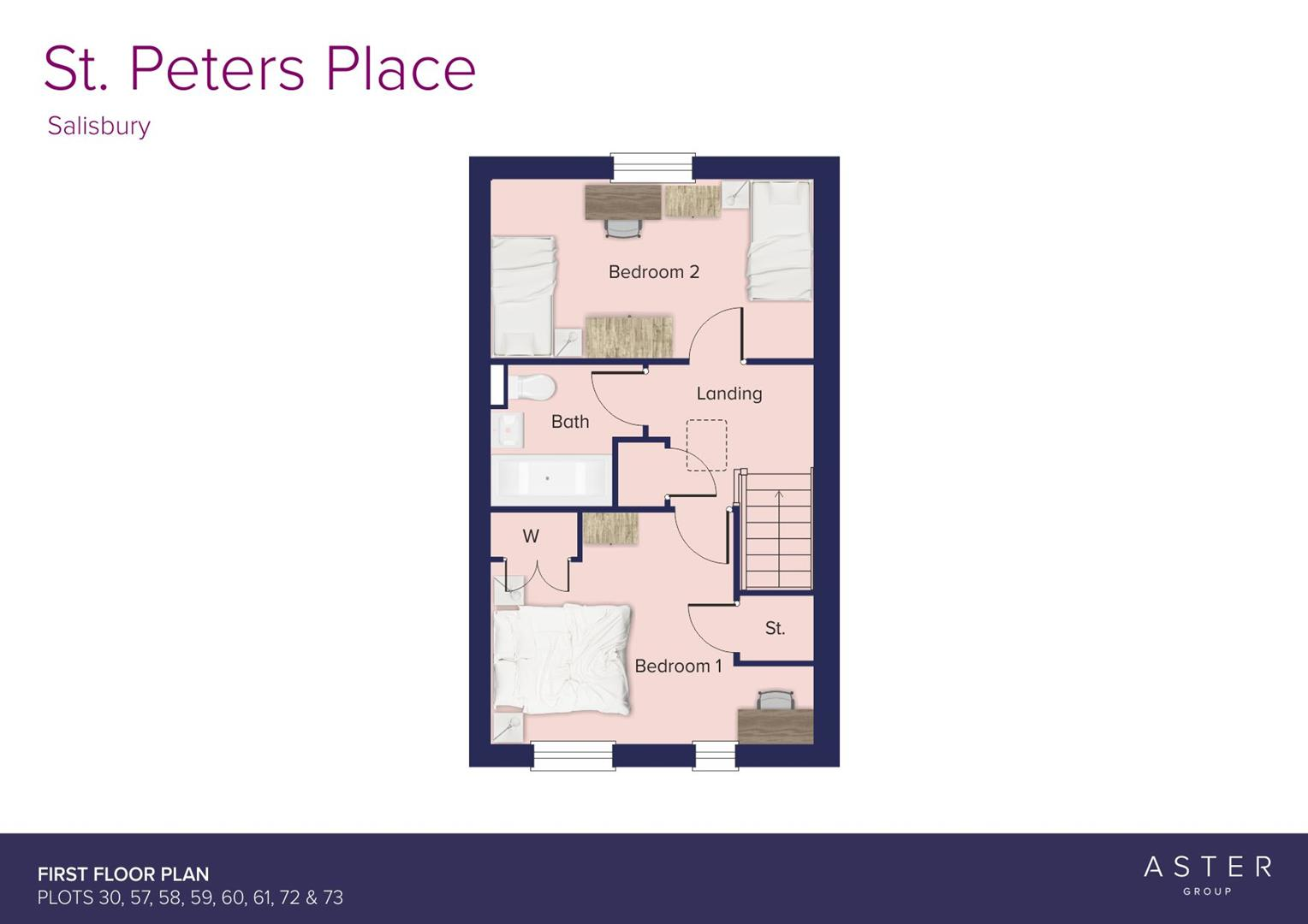 St. Peters Place, Salisbury_Plots 30, 57, 58, 59,